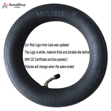 все цены на Electric Scooter Thicker Tyres for Xiaomi Mijia M365 Pro 8 1/2x2 Inflation Wheel Tyre Outer Inner Tube Pneumatic Tyre M365 Parts онлайн