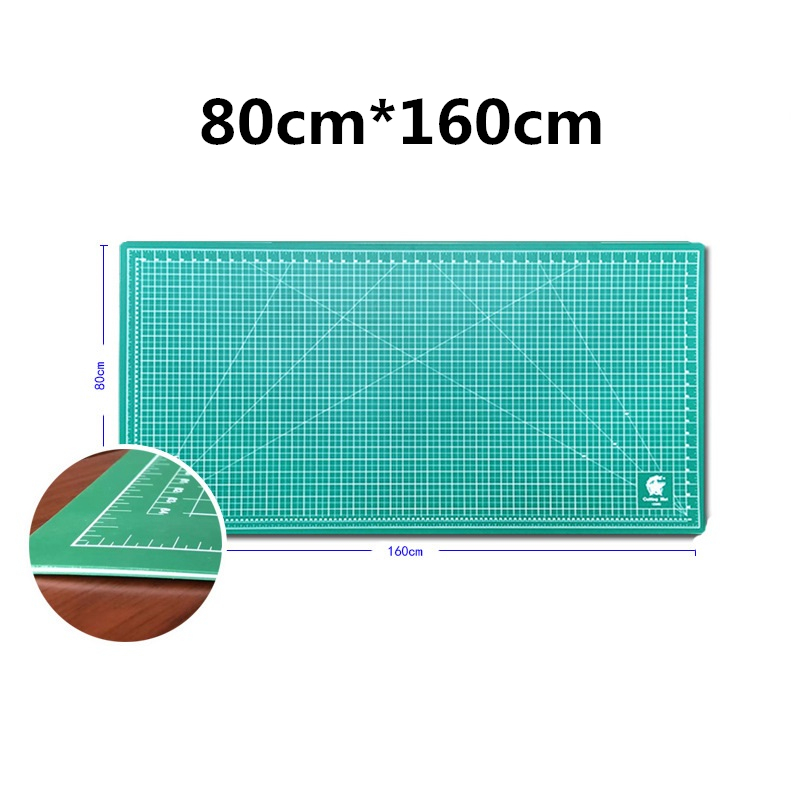 80cm×160cm Double-sided Self-healing Plate PVC Cutting Mat Patchwork Pad Artist Manual Sculpture Tool Home Carving Scale Board