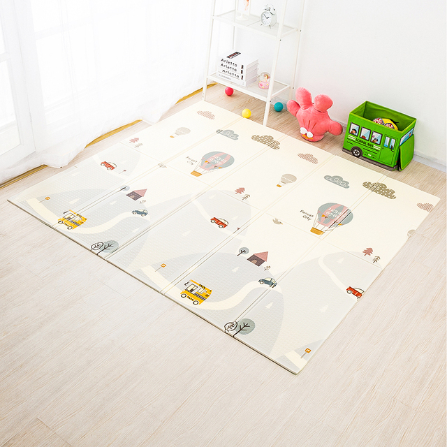 200x180cm Foldable Baby Play Mat Xpe Puzzle Toys for Children Carpet Climbing Pad Kids Rug Games Gym Activity Home Decor
