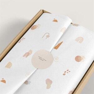 Image 2 - גבוהה סוף 17gsm רקמות נייר עבור בגדים מותאם אישית הדפסת לוגו מתנה/תכשיטים/בגדי גלישת רקמות נייר
