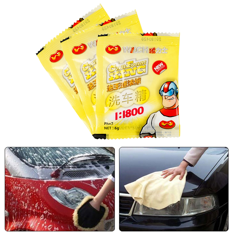 New Car Wash Shampoo Universal Concentrated Washing Powder Car Cleaning Products Car Wash Cleaning  Car Windshield Cleaning