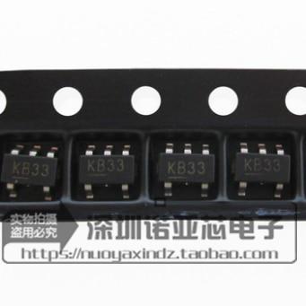 10pcs/lot New In Stock MIC5205-3.3BM5 SOT23-5 KB33 Low Noise LDO Regulator