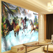 Horse Pentium Painting Print Art Tapestry Wall Hanging Polyester Wall Carpet Boho Decoration Tapestry Living Room Bedroom Home цена 2017