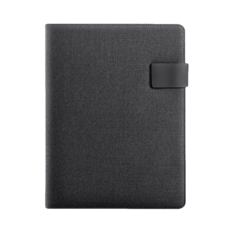 Vegan Leather Folder Business Binder Padfolio With Notebook For Businessman Or Interview