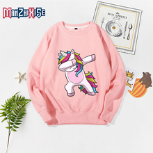 2019 Spring Autumn Casual Style 2-10 Years Old Childrens Long Sleeve Cartoon Animal Unicorn Print Kids Clothing Boy Sweatshirt