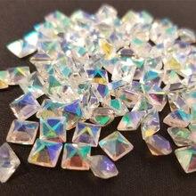 50 г/пакет кристалл для ногтей 28 дизайнов накладные кристаллы