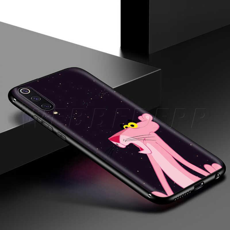Webbedepp Màu Hồng Đáng Yêu Panther Ốp Lưng Dành Cho Samsung Galaxy Samsung Galaxy S7 S8 S9 S10 Plus Edge Note 10 8 9 A10 A20 a30 A40 A50 A60 A70