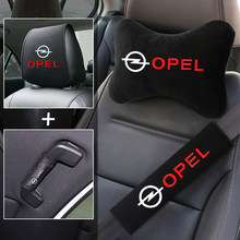 Car interior seat set handle headrest seat belt accessories for Opel Astra H Insignia Mokka Zafira Corsa Vectra Antara Meriva