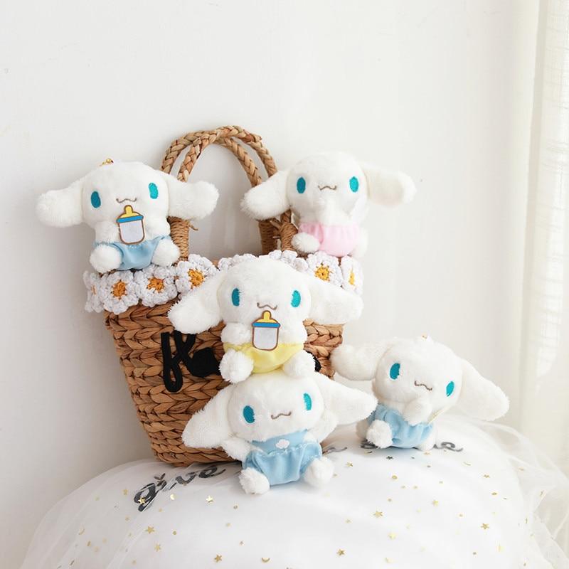 High Quality 10cm Kawaii Cute Cartoon Plush Cinnamoroll Plush Dogs Dolls Plush Toys For Children Birthday Gift Christmas Gifts