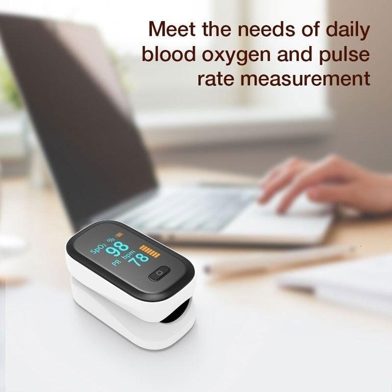 Portable Finger Pulse Oximeter Blood Oxygen Heart Rate Saturation Meter Oximetro De Dedo Saturometro Monitor Medical equipment 1