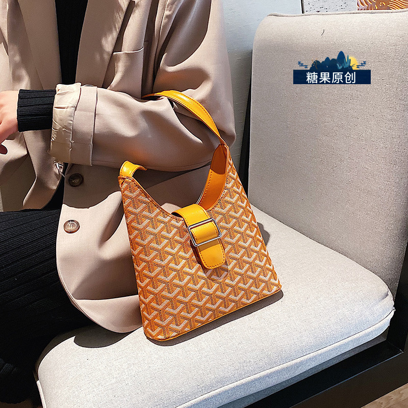 New Arrival Bag WOMEN'S Bag 2019 Autumn And Winter New Style Fashion Versitile Fashion Shoulder Bag INS Super Fire Casual Bucket