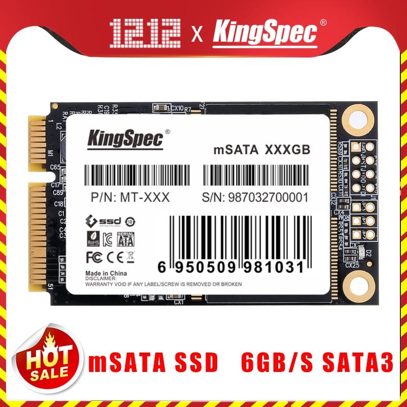 KingSpec MSATA SSD 120gb 240gb 512GB MSATA SSD 1TB 2TB HDD For Computer 3x5cm Internal Solid State Hard Drive For Hp Laptop