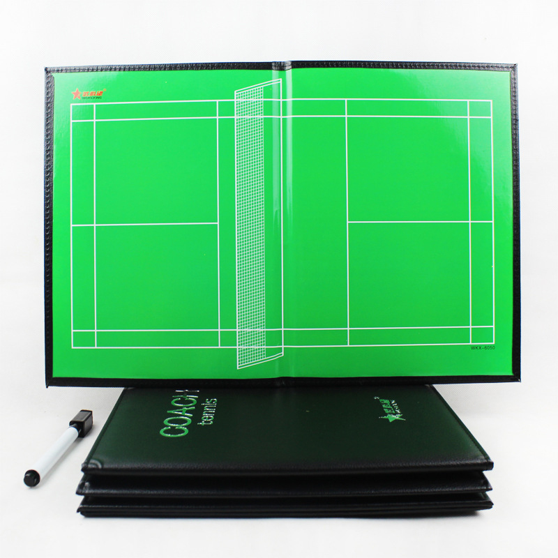 Foldable Badminton Magnetic Tactic Board Badminton Trainning Assisitant Equipments Tactics Clipboard