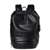New Preppy Style Men PU Leather Backpack High Quality Youth Travel Rucksack School Bag Male Laptop Business bagpack Shoulder Bag