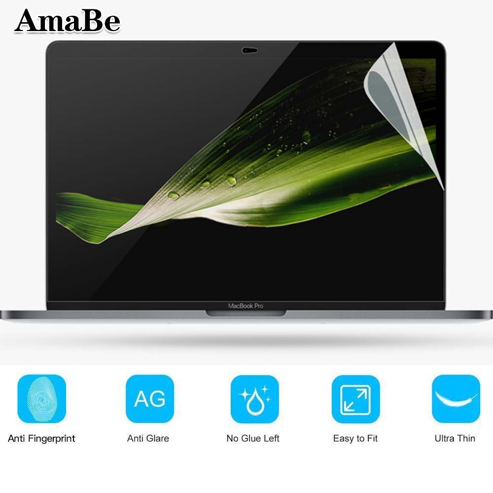 Screen Protective Guard Cover Film For Apple MacBookPro 13 1708 A1706 A1989 A1932 Anti-Scratch Transparent Screen Protector