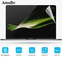 Película protetora de tela para apple macbook, proteção transparente para tela 13 1708 a1706 a1989 a1932