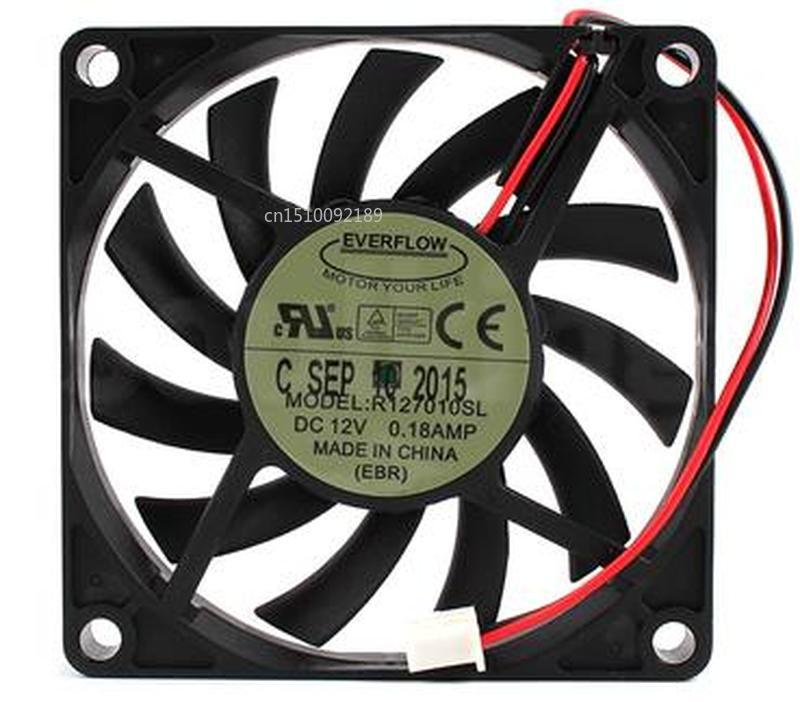 FOR EVERFLOW 7010 R127010SL Graphics Card Silence 12v Cooling Fan Free Shipping