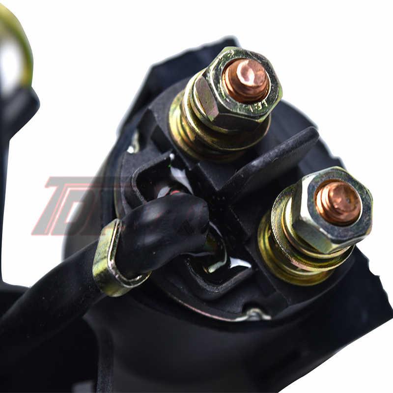 TDPRO 12 24v スタータモータリレー電磁オートバイ原付ため GY6 90cc 110cc 125cc 250cc Atv ダートピットバイクスクーター