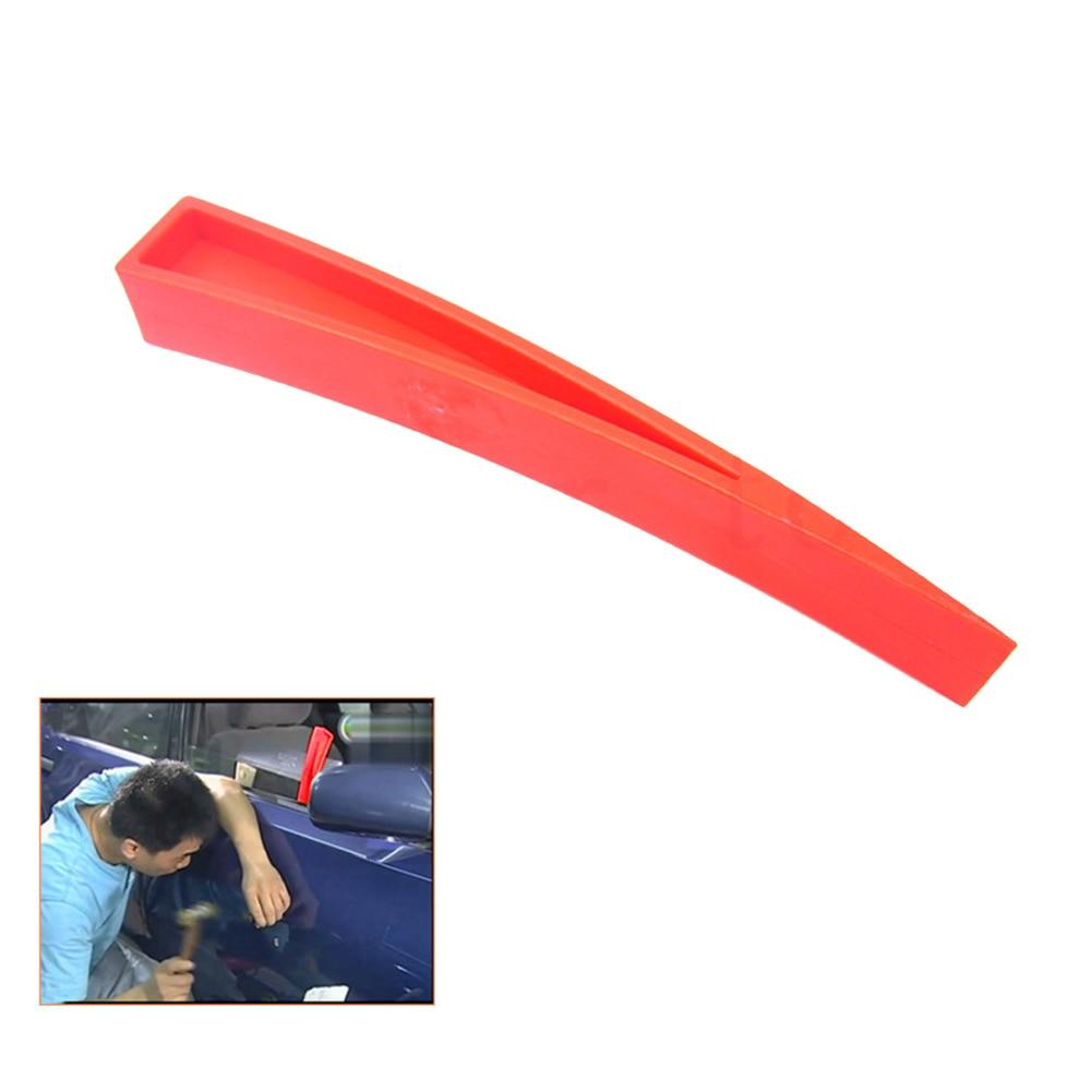 Купить с кэшбэком Curved Window Wedge Paintless Dent Repair Auto Car Body Repair DIY Hand Tool Door Clip Panel Trim Dashboard Opening Removal Tool
