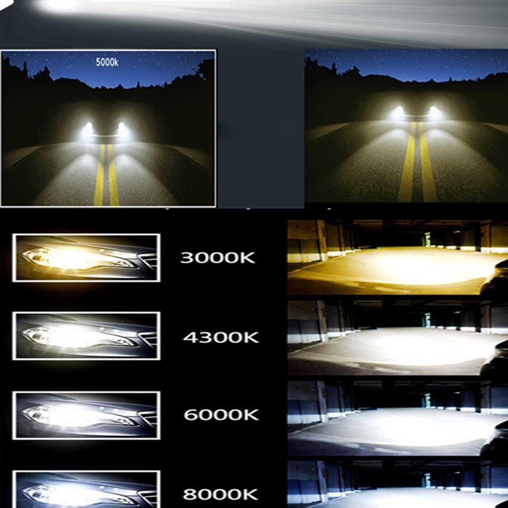 العالمي سيارة Led المصابيح الأمامية 3000K 4300K 6000K 8000K H1/3/7/11/16/4/13 Led مصباح بالقرب من مصابيح كهربائية بعيدة 60 واط سيارة تعديل المصابيح الأمامية
