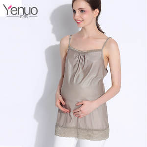 Maternity-Clothes Lace-Wear Pregnant-Women Radiat Camisole Radiation-Protected Service