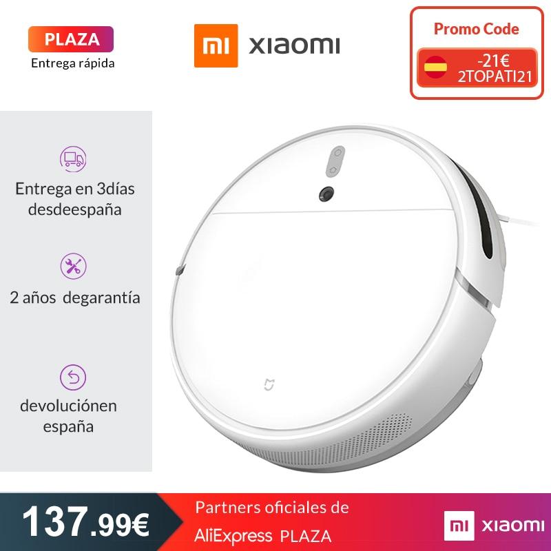 Xiaomi Robot aspirador Mi 1C para hogar, barrido automático y fregado, Planificación inteligente, Control remoto mediante aplicación Mijia|Aspiradoras| - AliExpress