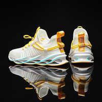 2020 nova tendência lâmina de corrida dos homens sapatos casuais masculinos tênis femininos zapatos de mujer hombre plus size 46 zapatillas sapatilha