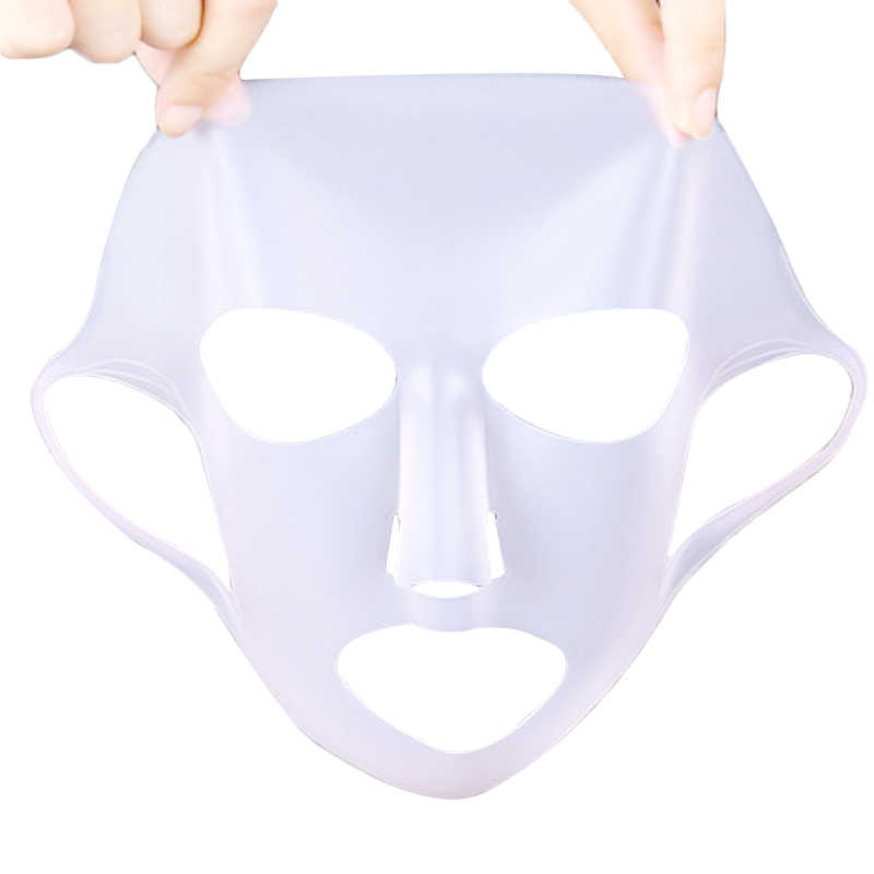 efero Silicone Unisex Face Mask Sheet Mask Anti-off Mask Ear Fixed Prevent Essence Evaporating Reusable Face Mask Makeup Tools
