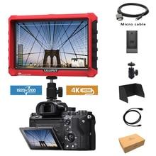 Lillile A7S شاشة مراقبة ميدانية للفيديو مزودة بكاميرا كانون ونيكون وسوني و DSLR ، 7 بوصات ، فائقة النحافة ، IPS ، Full HD ، 1920x1200 ، 4K ، HDMI