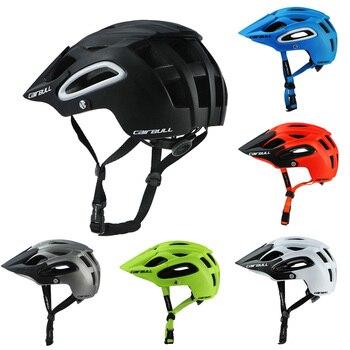 2020 novo cairbull ciclismo capacete trail xc bicicleta capacete in-mold mtb bicicleta capacete casco ciclismo estrada capacetes de montanha boné de segurança 1