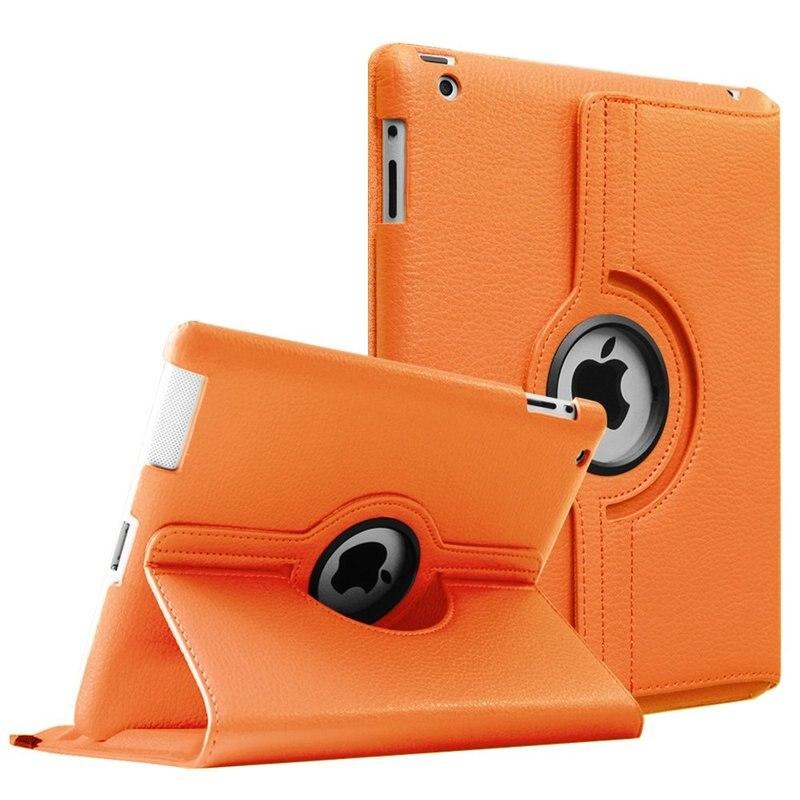 Чехол для iPad 2, iPad 3, iPad 4, чехол из искусственной кожи с поворотом на 360 градусов, чехол-подставка A1395, A1396, A1397, A1416, A1430, A1403, A1458, A1459, A1460