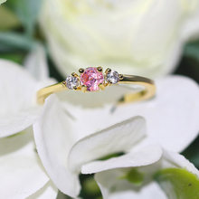 Anéis de casamento finos para as mulheres delicado bonito colorido doce pedra luz cor ouro proposta dedo anel presente moda jóias r872