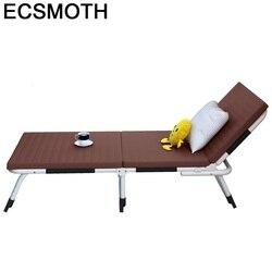 Meble Ogrodowe krzesło plażowe Cama Camping tumbona Playa Longue Meble Ogrodowe oświetlone łóżko składane Salon De Jardin leżak na