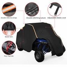 Housse UTV RZR, protection de stockage pour véhicule de ferme 4x4 contre la pluie, la neige, les rayons de saleté, réfléchissante, pour Polaris XP XP4 1000 210D