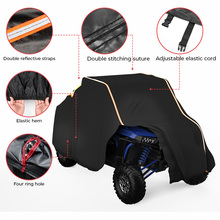 Крышка для хранения UTV, крышка для защиты фермы 4x4, автомобиль от дождя, снега, грязи, светоотражающая для Polaris XP XP4 1000 210D