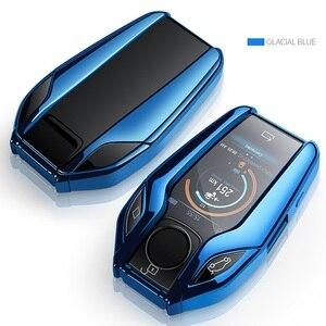 Image 4 - TPU Car Fully Key Case LED Display Key Cover Case for BMW 5 7 series G11 G12 G30 G31 G32 i8 I12 I15 G01 X3 G02 X4 G05 X5 G07 X7