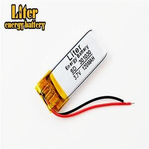 Image 3 - Auricolare Bluetooth batteria 301030 3.7V 120MAH ai polimeri di litio della batteria 301230 piccolo giocattolo di registrazione del suono penna