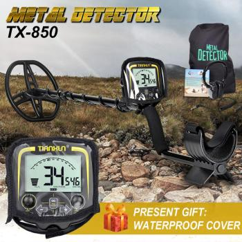Professional Metal Detector Underground Depth 2.5m Scanner Search Finder Gold Detector Treasure Hunter Detecting Pinpointer metal detector pinpointer portable gold detector pin pointer treasure hunter automatic tuning belt holster led indicator