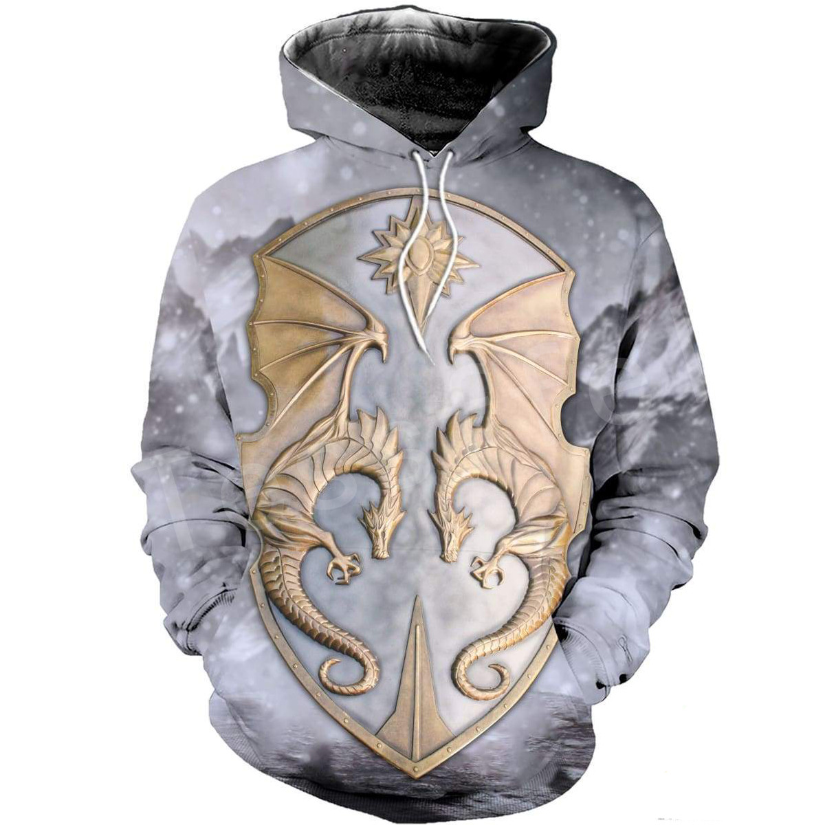 Tessffel Dragon Art Animal Harajuku MenWomen HipHop 3DPrinted Sweatshirts hoodie jackt shirts Tracksuits Casual Colorful Style 2 in Hoodies amp Sweatshirts from Men 39 s Clothing