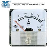 Sd50-a dc amperímetro 10v simulador transdutor instrumento 50a 100a 150a 200a 250a 300a ponteiro 10v corrente de conversão