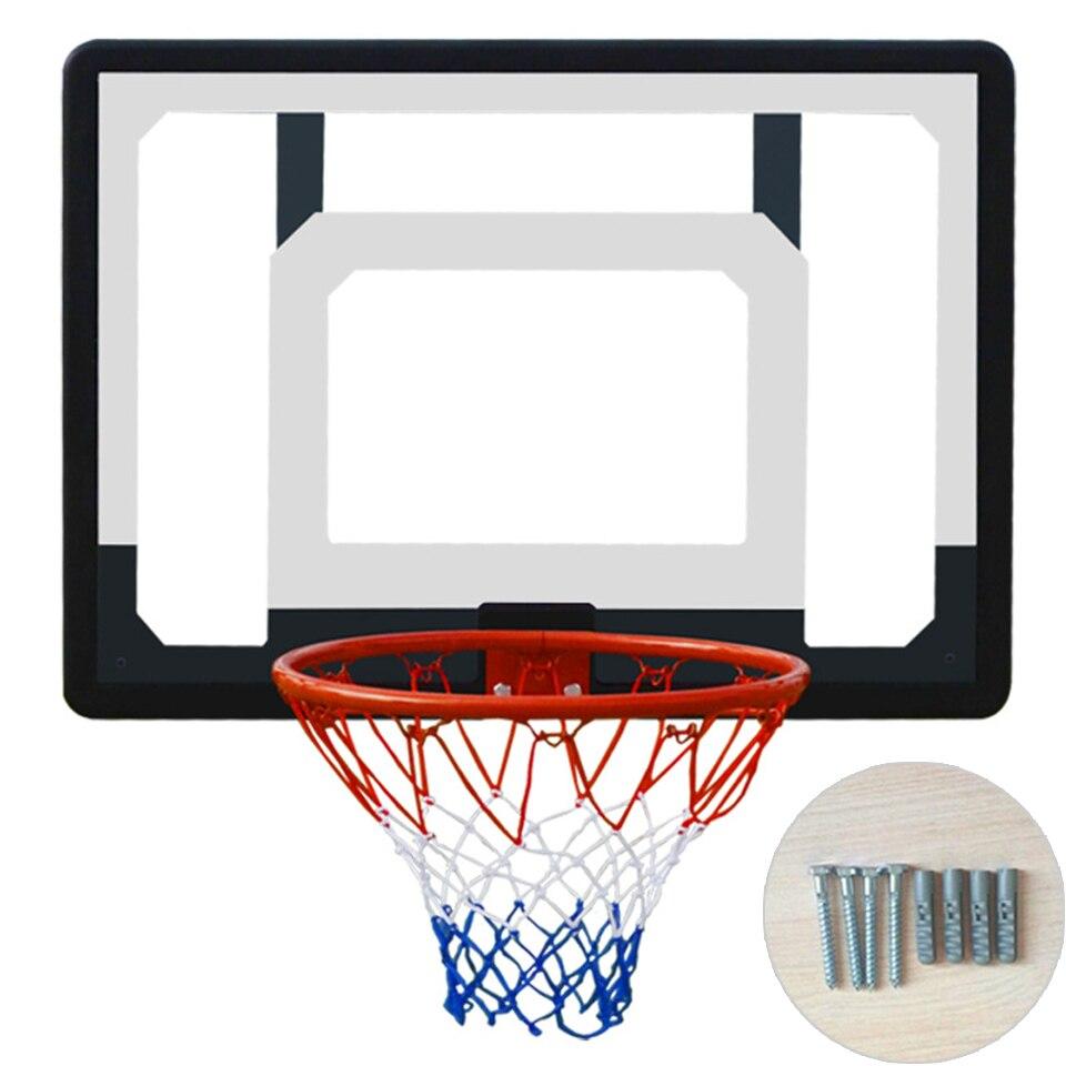 BASKETBALL BACKBOARD HOOP SET WALL MOUNTED INDOOR WALL MOUNTED SHOT OUTDOOR GAME