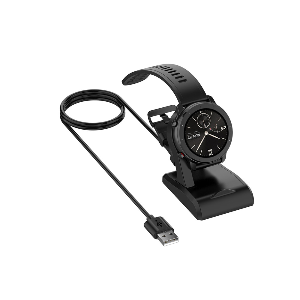 Watch Charger Cradle for <font><b>Huami</b></font> A1918 Watch <font><b>Charging</b></font> Dock Cradle Station <font><b>Amazfit</b></font> T-Rex/GTR42mm/GTR 47mm/GTS Watch Accessories image