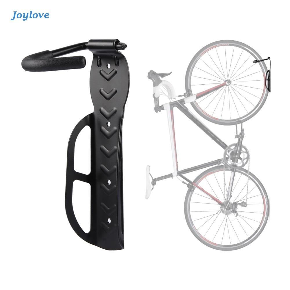 JOYLOVE Bike Wall Mount Bicycle Stand Holder Mountain Bike Rack Stands Steel Hanger Hook Storage Bicycle Accessories Rack