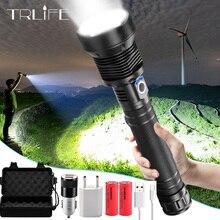 Latarka taktyczna XHP70.2 LED najmocniejsza XLamp XHP50 akumulatorowa latarka z regulacją wiązki światła XHP70 18650 26650 latarka myśliwska samoobrona