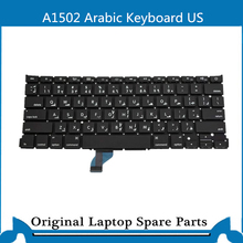 Original nouveau clavier pour Macbook Retina A1502 arabe KB US 2013-2015