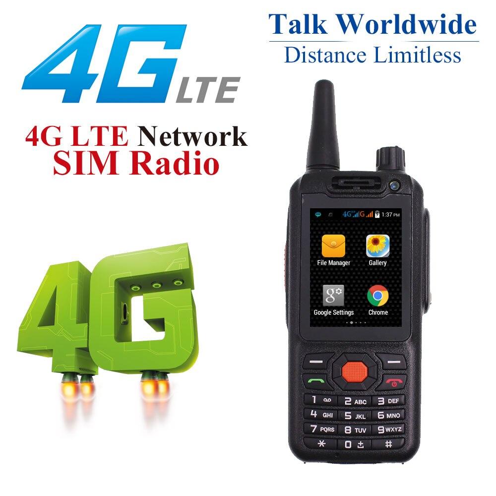 F22 Upgraded Version 4G LTE Network Radio Zello PTT Walkie Talkie Phone F25 G25 Dual SIM Card GPS  SOS Function Radio