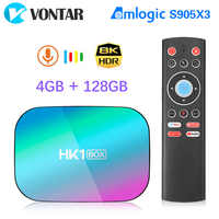 2020 VONTAR HK1 BOX 8K 4GB 128GB TV Box Amlogic S905X3 Android 9.0 1000M Wifi 4K GooglePlay Netflix Youtube Android9 Set top box