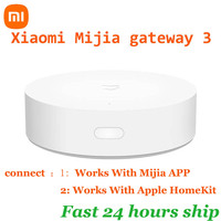 Xiaomi-Puerta de enlace inteligente multimodo Xiaomi Mijia 3, wifi, protocolor de bluetooth, Zigbee, control remoto