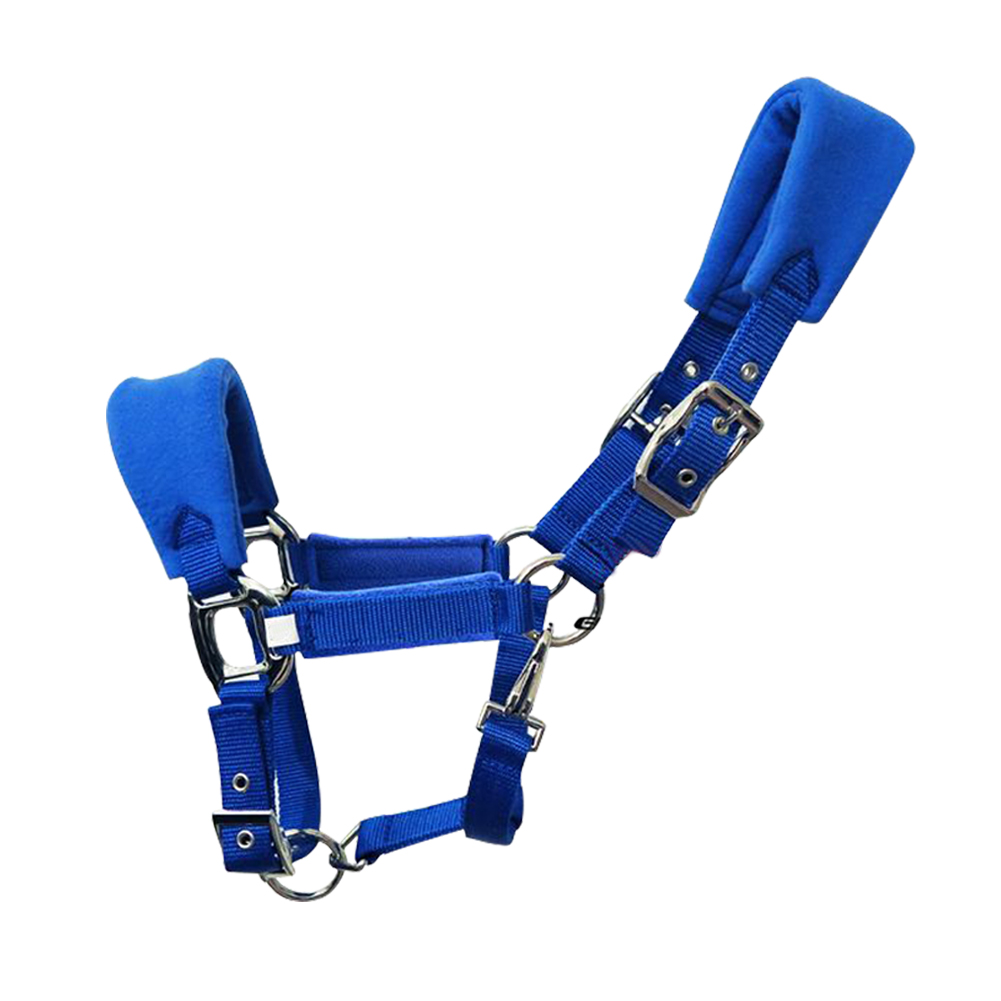 Multiple Sizes Accessories Practical Outdoor Double Layered Sports Fleece Padded Detachable Adjustable Strap Horse Halter