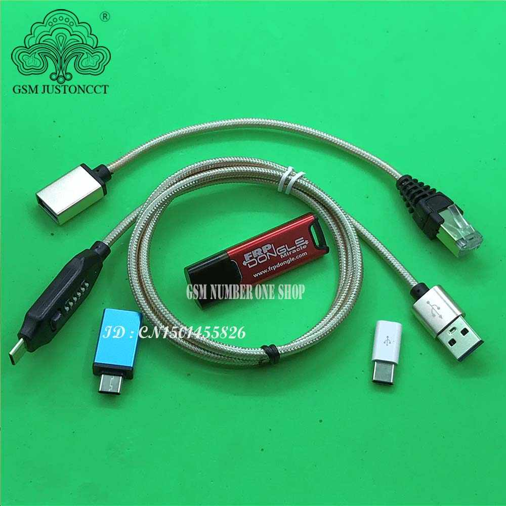Original Miracle FRP Dongle Miracle FRP Tool Dongle + UMF All boot cables Free Moto Vivo eMMC Tool